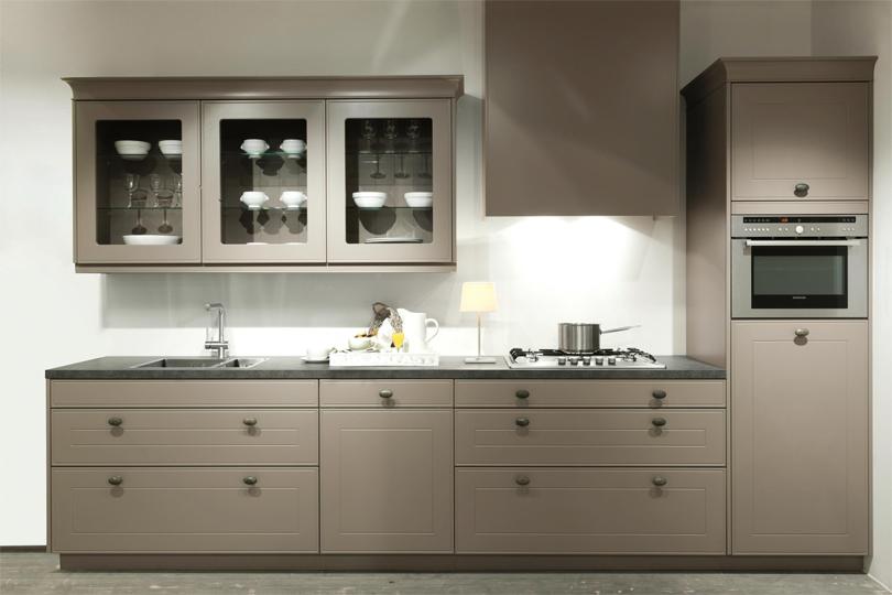 кухни со стеклом МДФ №56