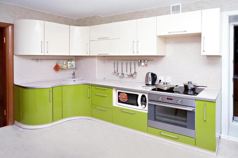 Кухня ПВХ №45