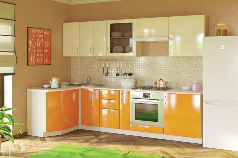 Кухня угловая из МДФ №27