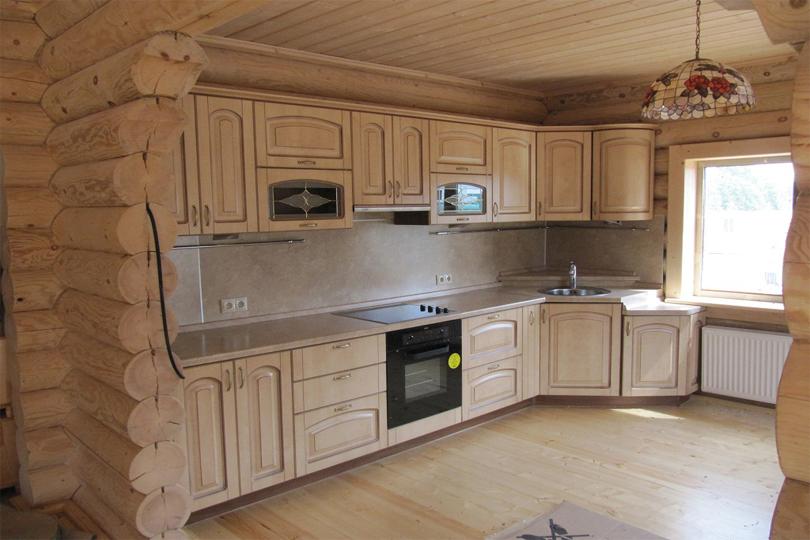 Кухня на дачу из МДФ №46