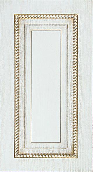 Фрезеровка для кухни Квадрат с острым углом. Декор коса