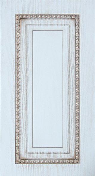 Фрезеровка для кухни Квадрат с острым углом. Декор греческий